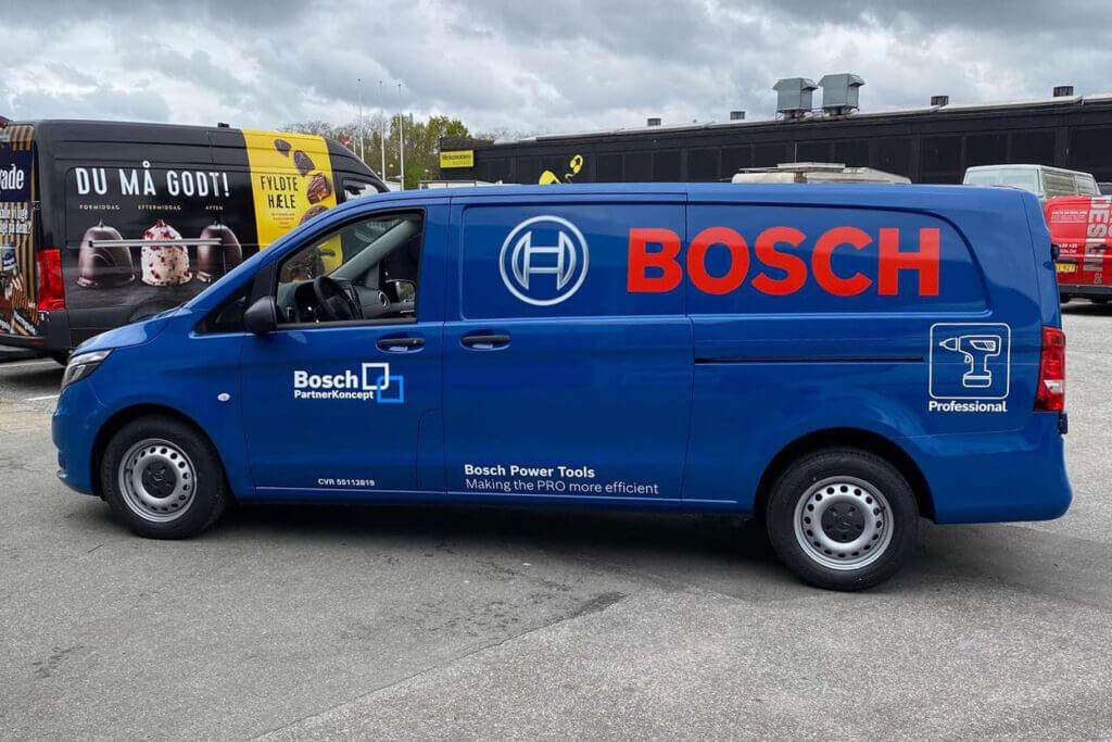 bilreklame Bosch